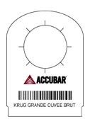 accubar necktag barcode bar-code liquor inventory & bar inventory software management