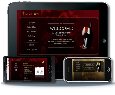 Bar Inventory Software iWine Lists